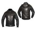 Clothing made of leather for bikers