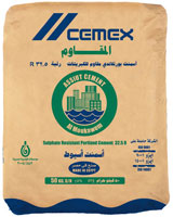 Cements sulfate-resistent