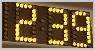 Moving message(Digital dot matrix displays,indoor,