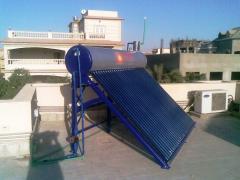 سخانات المياه بالطاقة الشمسية