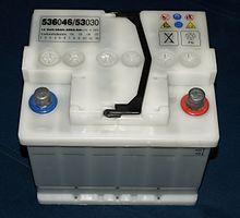 Batteries lead-acid stationary