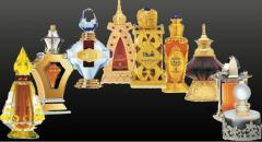 Scent-bottle, phials for perfumery, made of glass