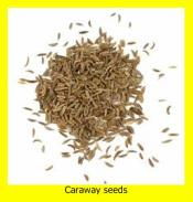 Fruits of caraway