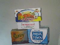 صناديق لزجاجات المياه و الاغذية