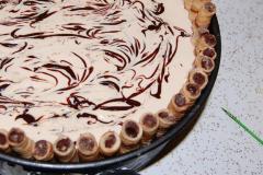 Fudge drizzle cake