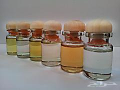 Flasks, phials, perfumery, made of porcelain