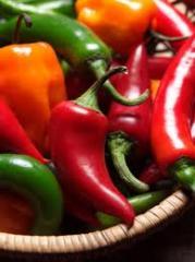 Frozen pepper