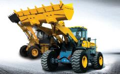 Machines Bulldozer-digging