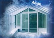 Smoke-protection doors
