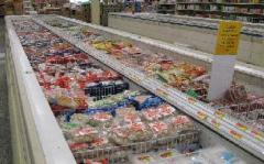 المواد الغذائية المجمدة