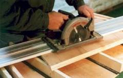 المواد الخام لانتاج الخشب