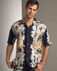 قميص مشجر
