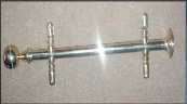Curtain holder, stainless steel