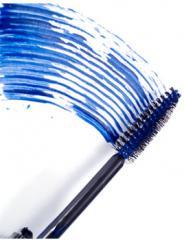 ماسكرا زرقاء