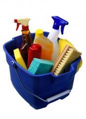 Tools for cleaning plastics