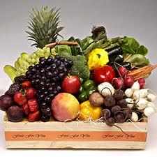 سلة من الخضراوات