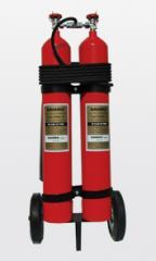 وحدة إطفاء حريق متحركة على عجلات طراز ســيناء
