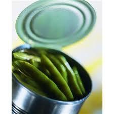 المواد الغذائية المعلبة