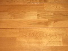 Flooring of plywood