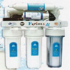 Filters for softening of natural water