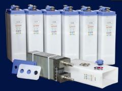 Batteries accumulator rooms nickel -cadmium  for