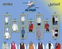 ملابس للعاملين في الفنادق