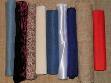 Fabrics made of artificial (chemical) fiber