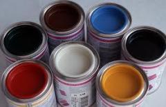 Building paints, glue