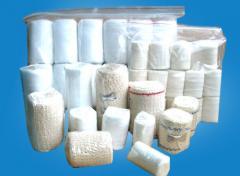 Bandages gauze sterile