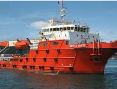 Means of technological equipment for ship