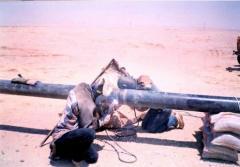 56 km pipeline from Halet Elmahgar petroleum