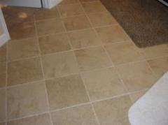 Interior gypsum tile