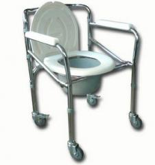 Toilet seat for disabled people
