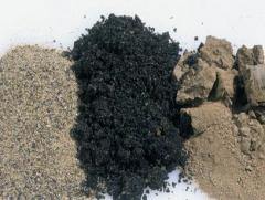 Abrasive sand