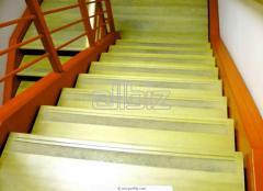 Ceramic granite stairs for ladders