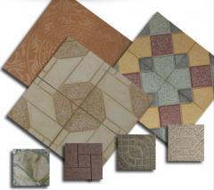 Facade facing tiles