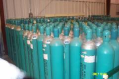 تعبئة الغازات السائلة والعادية في السلندرات