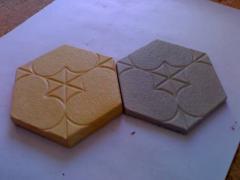 "Floor tiles ""stone"""