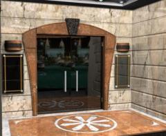 مدخل رخام