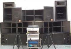 أنظمة الصوت
