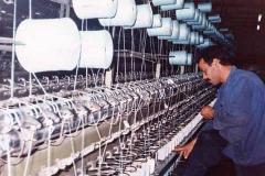 ماكينات الغزل والنسيج