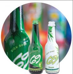 عبوات زجاجية لحفظ المشروبات