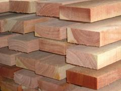 Wooden products of industrial purpose