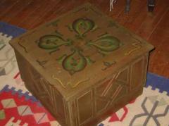 صندوق ديكور خشبى