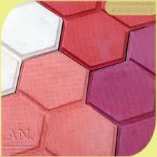 Glossy flooring tile
