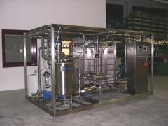 Equipment for sterilization and pasteurization of