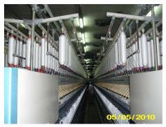 تجهيز المعدات اللازمة لصناعة النسيج