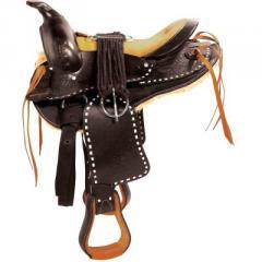 Round Skirt Western Saddle(Bonanza - Horse)
