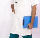 Unitex standard male lab coat