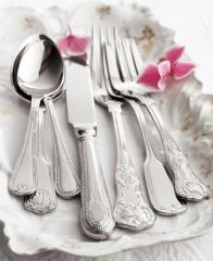 Spoons from silver